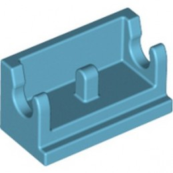 LEGO 6347987 ROCKER BEARING 1X2 - MEDIUM AZUR