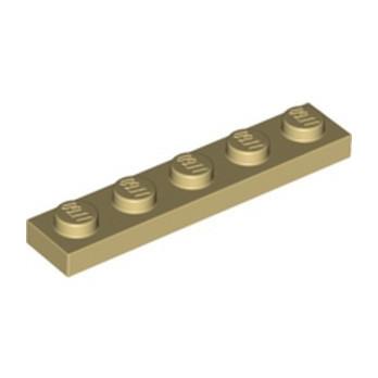 LEGO 6351905 PLATE 1X5 - TAN