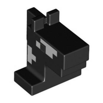 LEGO 6347321 HORSE HEAD MINECRAFT - BLACK