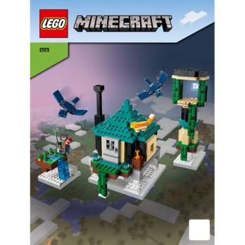 Instruction Lego Minecraft 21173