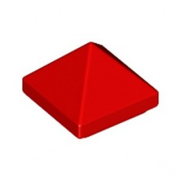 LEGO 6350414 PYRAMID SLOPE 1X1X2/3 - RED