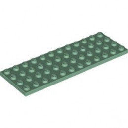 LEGO 6353402 PLATE 4X12 - SAND GREEN