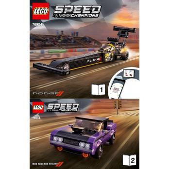 Instruction Lego® Speed Champions 76904