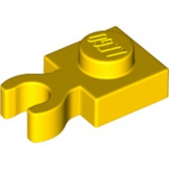 LEGO 6348065 PLATE 1X1 W. HOLDER - YELLOW