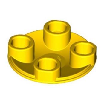 LEGO 6294771 SLIDE SHOE ROUND 2X2 - YELLOW