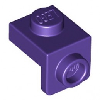 LEGO 6336391 PLATE 1X1, W/ 1.5 PLATE 1X1, DOWNWARDS - MEDIUM LILAC
