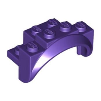 LEGO 6336388 MUDGUARD 2X4X2 - MEDIUM LILAC