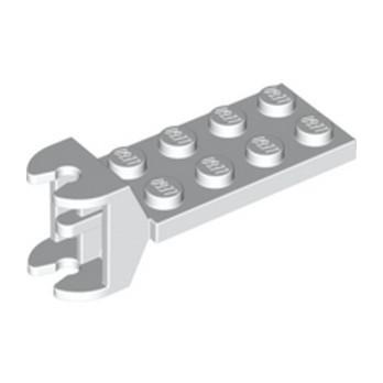 LEGO 6310912 PLATE 2X4 ACROSS HINGE - BLANC