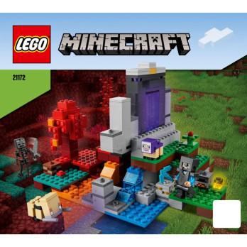 Instruction Lego Minecraft 21172