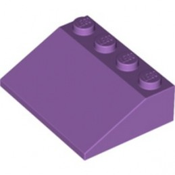 LEGO 6269015 ROOF TILE 3X4/25° - MEDIUM LAVENDER