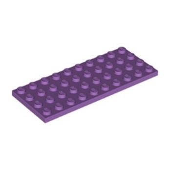LEGO 6343444 PLATE 4X10 - MEDIUM LAVENDER