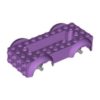 LEGO 6393821 - WAGGON BOTTOM ASSEMBLY - MEDIUM LAVENDER