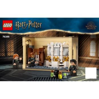 Instruction Lego Harry Potter 76386