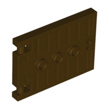 LEGO 6349697 DOOR - DARK BROWN