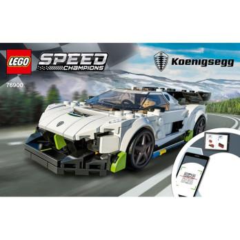 Instruction Lego® Speed Champions 76900