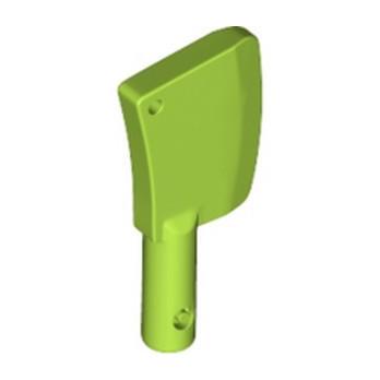 LEGO 6395774 MINI CLEAVER W/ DIA. 3,2, SHAFT - BRIGHT YELLOWISH GREEN