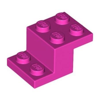 LEGO 6395401 BRICK W/ PLATE 2X3X1 1/3 - DARK PINK