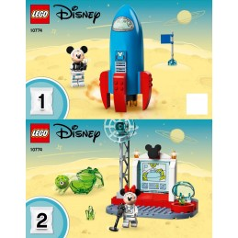 Instruction Lego Disney 10774