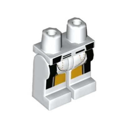 LEGO 6323917 PRINTED LEGS - WHITE