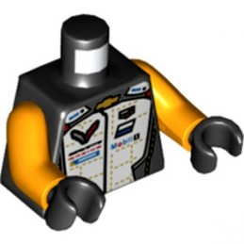 LEGO 6336761 TORSO SPEED CHAMPION - BLACK