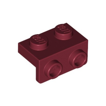 LEGO 6264026 ANGULAR PLATE 1,5 TOP 1X2 1/2 - NEW DARK RED