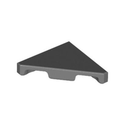 LEGO 6262025 FLAT TILE 2X2 45° - DARK STONE GREY