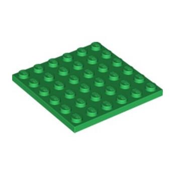 LEGO 6097194 PLATE 6X6 - DARK GREEN