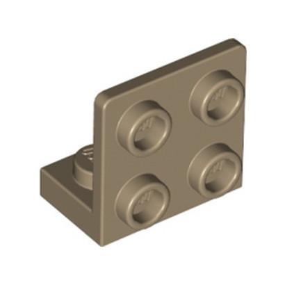 LEGO 6330148 ANGULAR PLATE 1.5 BOT. 1X2 22 - SAND YELLOW