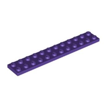 LEGO 6338909 PLATE 2X12 - MEDIUM LILAC