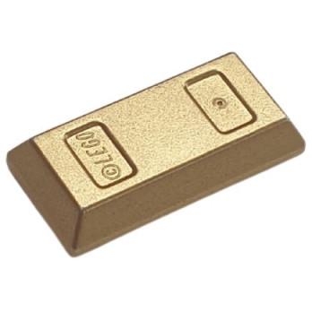 LEGO 6294492 GOLD INGOT - GOLD INK