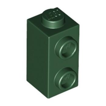 LEGO 6252591 BRICK 1X1X1 2/3, W/ VERT. KNOBS - EARTH GREEN