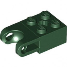 LEGO 6172458 BRICK 2X2 W. CUP FOR BALL - EARTH GREEN