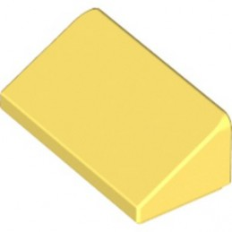 LEGO 6296510 ROOF TILE 1X2X 2/3 - COOL YELLOW