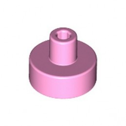 LEGO 6230579 PLATE 1X1, W/ 3.2 SHAFT AND 1.5 HOLE - BRIGHT PINK