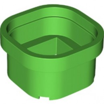 LEGO 6294708 DESIGN BRICK 6X6X3 CIRCLE - BRIGHT GREEN