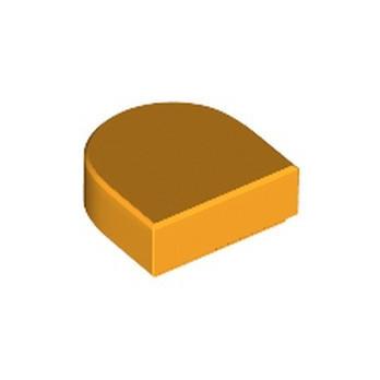 LEGO 6313554 FLAT TILE 1x1 ½ CIRCLE - FLAME YELLOWISH ORANGE