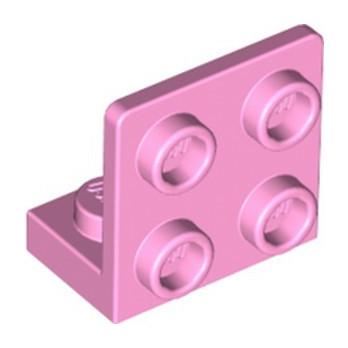 LEGO 6288181 ANGULAR PLATE 1.5 BOT. 1X2 22 - BRIGHT PINK