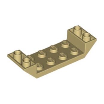 LEGO 6345504 INV. ROOF 2X6 45 DEG. W/CUT - TAN