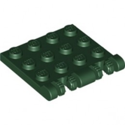 LEGO 6357911 ROOF 4X4 W. FORKS - EARTH GREEN