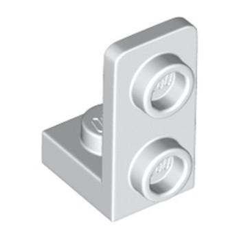 LEGO 6337079 PLATE 1X1, W/ 1.5 PLATE 1X2, UPWARDS - WHITE