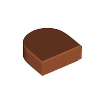 LEGO 6359273 FLAT TILE 1x1 ½ CIRCLE - DARK ORANGE