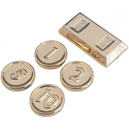 LEGO 6294492 COINS - GOLD INK