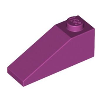 LEGO 6359092 ROOF TILE 1X3/25° - MAGENTA