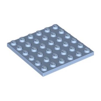 LEGO 6361088 PLATE 6X6 - LIGHT ROYAL BLUE