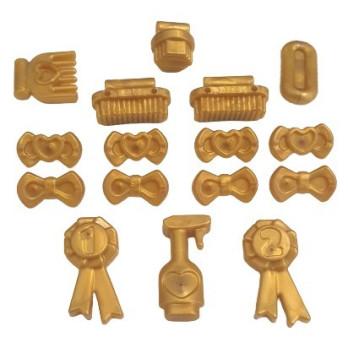 LEGO 6353711 ACCEC, ANIMAL W.SHAFT 1,5/3,2 - WARM GOLD