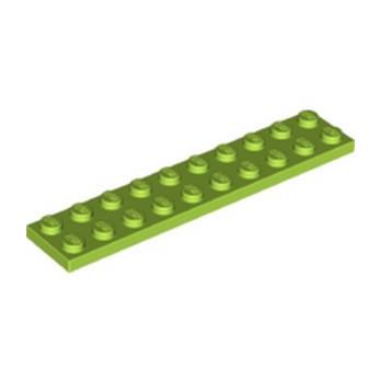LEGO 6151720 PLATE 2X10 - BRIGHT YELLOWISH GREEN