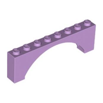 LEGO 6361080 BRICK W/ BOW 1X8X2 - LAVENDER