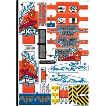 Stickers Lego® Technic - 42128