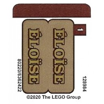 Stickers Lego Ideas - 40487
