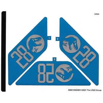 Stickers Lego® Jurassic World 76942